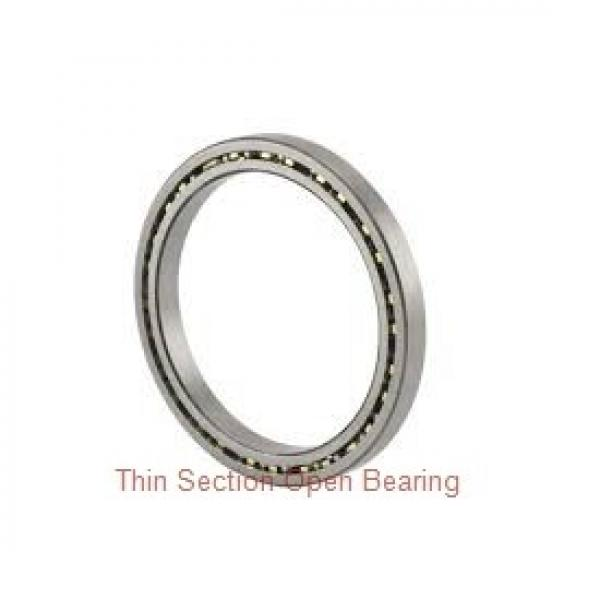 SX011860 High precision cross roller slewing bearing #1 image